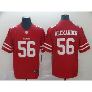 San Francisco 49ers Kwon Alexander Red Jersey
